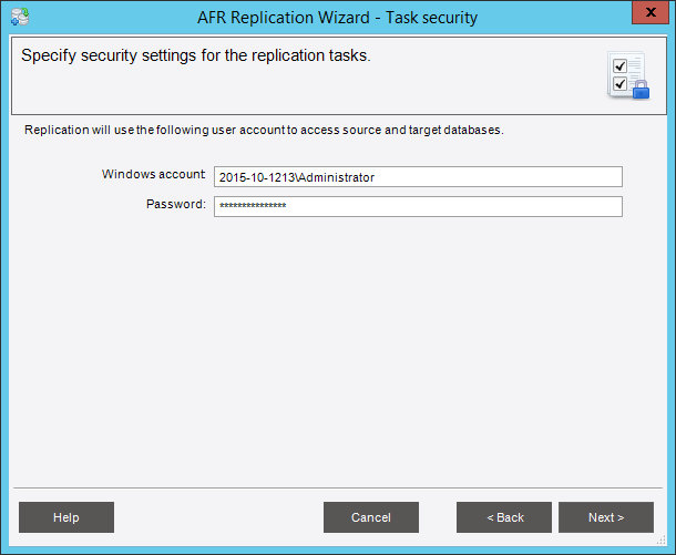 Введите пароль администратора и нажмите «Next»