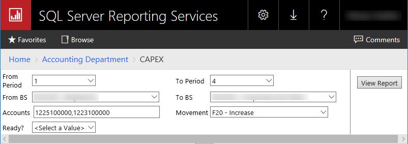 Когда Вы открываете отчёт, у которого нет параметров или если у отчёта есть параметры, но они все заполнены по умолчанию, он должен запускаться автоматически.Если у отчёта есть параметры и вы захотите из изменить, вам придётся ждать, пока он сформируется, до того, как вы сможете изменить какие-то параметры. Чтобы это не происходило я обычно добавляю дополнительный параметр «Ready?» (Готово?), чтобы отчёт не запускался сразу