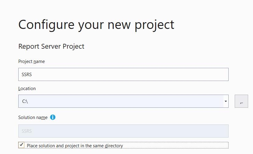 Укажите название проекта, его местоположение