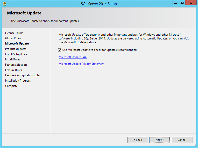 Install SQL Server Express 2014 With Advanced Services - шаг 3