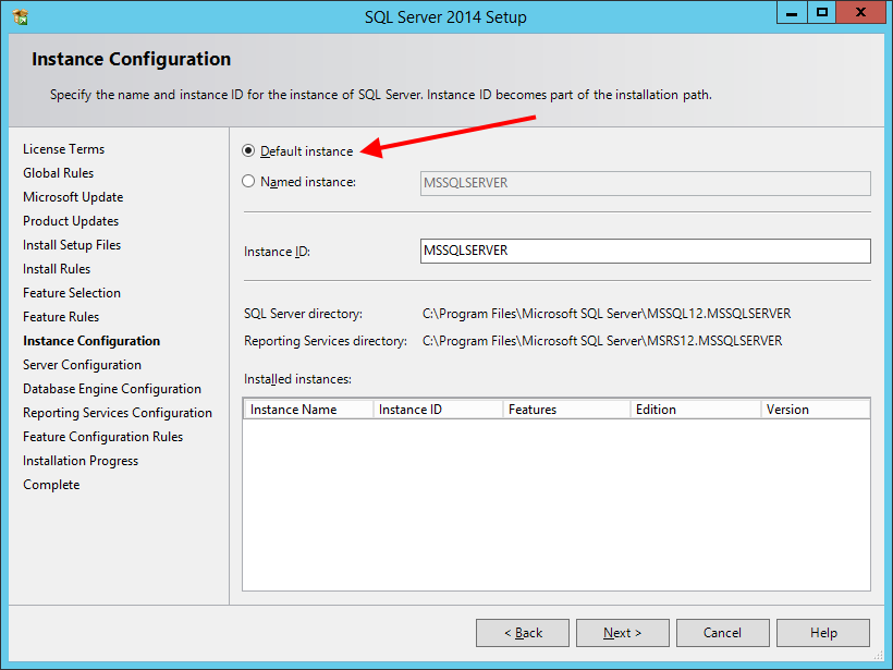 Install SQL Server Express 2014 With Advanced Services - шаг 5