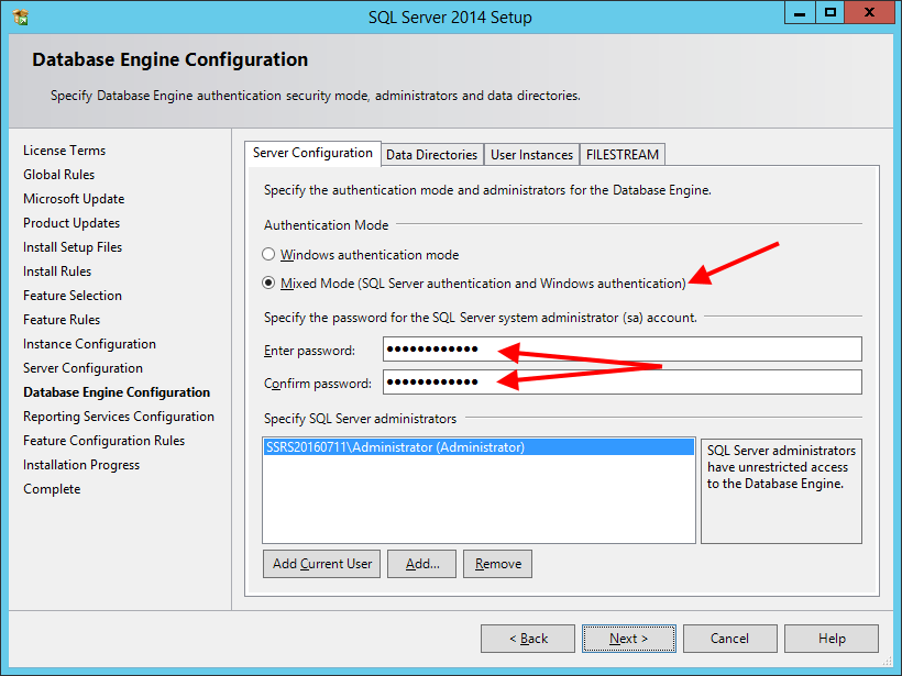 Install SQL Server Express 2014 With Advanced Services - шаг 9