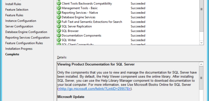 Install SQL Server Express 2014 With Advanced Services - шаг 12