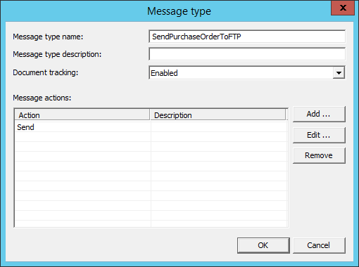 Sent PO electronically to Supplier's FTP site: Step 6.1