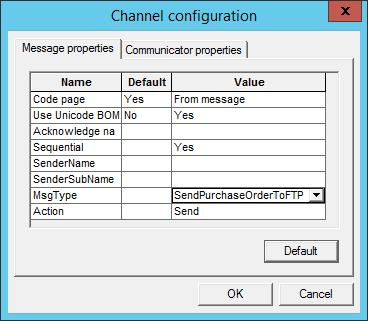 Sent PO electronically to Supplier's FTP site: Step 10