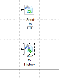 Sent PO electronically to Supplier's FTP site: Step 15.4