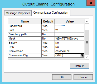 Sent PO electronically to Supplier's FTP site: Step 15.16