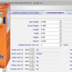 У нас для закупок используется единица измерения упаковка, а для склада - килограммы, как это правильно ввести в карточке запаса?