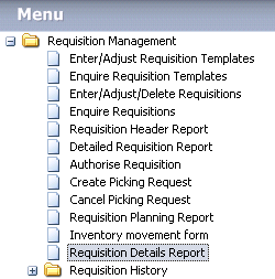 Additional reports have been added into iScala menu