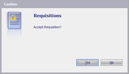 Accept Requisition?