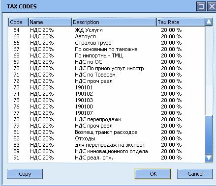 На картинке код НДС 64 соответствует старому коду 14, а код 82 - старому коду 32