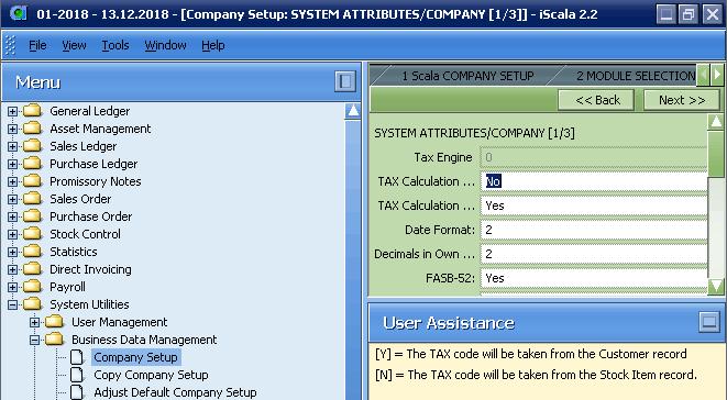 """В зависимости от параметра компании при использовании модуля """"Заказы на Продажу"""" НДС может браться из карточки покупателя или из карточки запаса"""