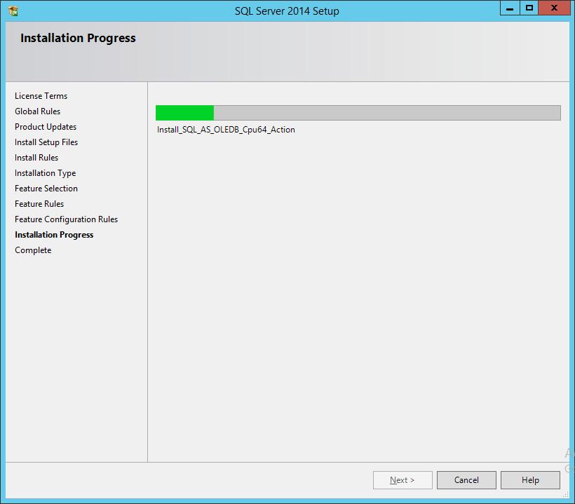 Процесс установки SSDTBI_x86_ENU
